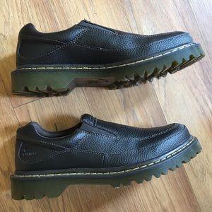 Dr. Martens Shoes - Doc Martens Brown Slip Ons